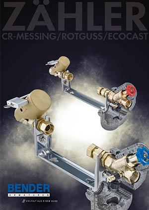 Prospekt Bender Wasserzähler Sortiment